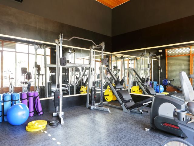 Camping con gimnasio y fitness