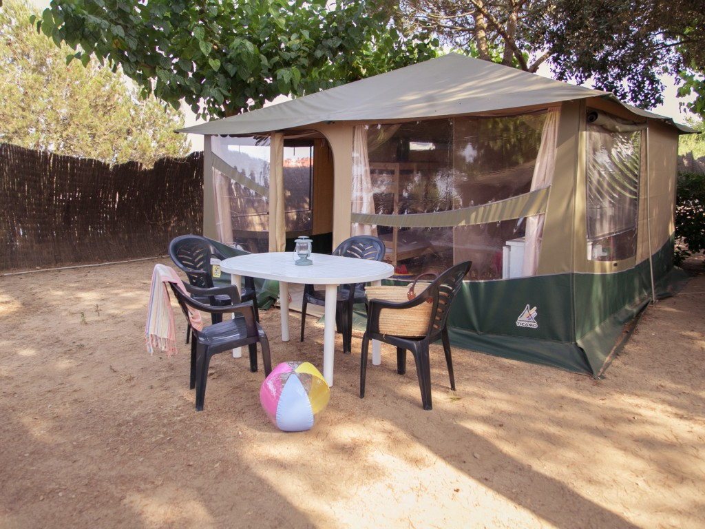 Tent Canvas 4 - Camping Tucan